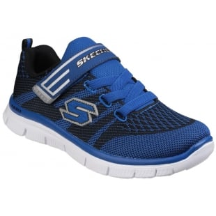 Skechers Flex Advantage Master Mind Blue/Black Boys SK95523L