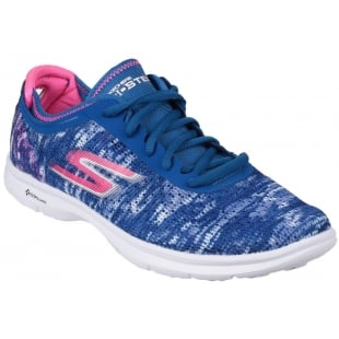 Skechers Go Step Blue/Pink