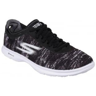 Skechers Go Step Black/White