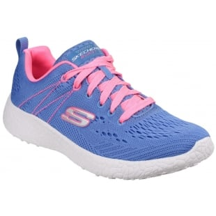 Skechers Burst - Equinox Blue/Pink