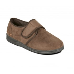 Padders Charles 411 G Fit Brown Slippers