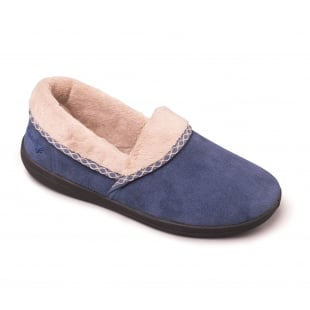 Padders Mellow 460 Ee Fit Denim (Blue) Slippers