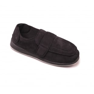 Padders Wrap 429 - G Fit  Black Slippers