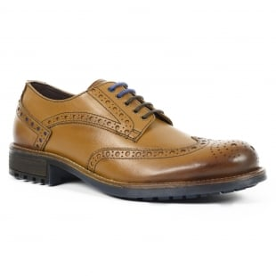 Front Drake Fr7240 Tan Shoes