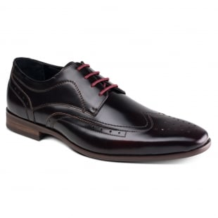 Azor Shoes Catania ZM3760 Black/Red Shoes