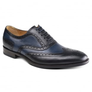 Azor Shoes Cresto (Zm3777) Black/Navy Shoes