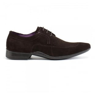 Azor Shoes Frezier Zm3737  Brown Suede Shoes