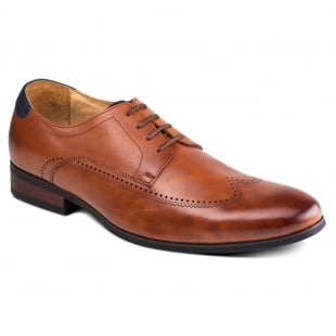Azor Shoes Giorgio Zm3757 Tan Shoes