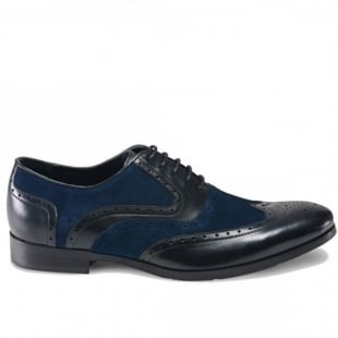 Azor Shoes Miller Zm3756 Black/Blue Shoes
