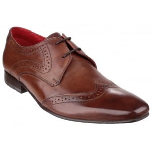 Base London Sew Burnished Brown Shoes