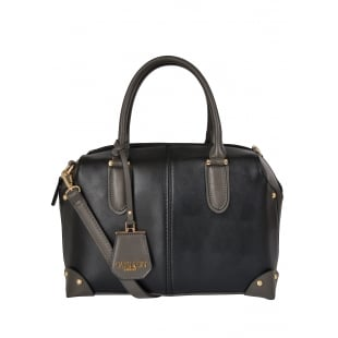 Carlton London Alchemilla CLB0019 Black Bag