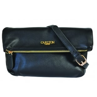 Carlton London Astilbe CLB0025 Black Bag