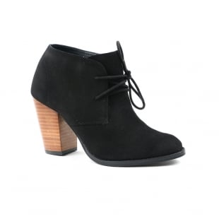 Carlton London Carolyn Black Ankle Boots