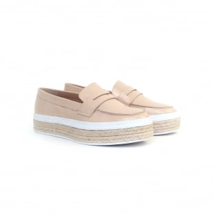 Carlton London Pacey CL7108 Nude Shoes