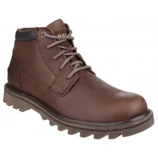 Caterpillar Doubleday Lace Up Brown Boots