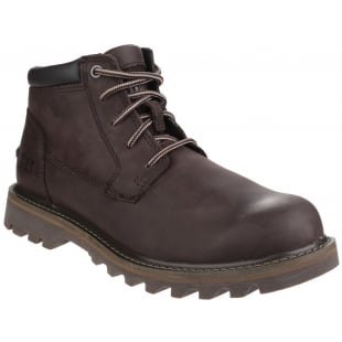 Caterpillar Doubleday Lace Up Dark Brown Boots