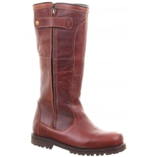 Chatham Chargot Red Brown Boots