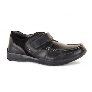 Chatham George Black Shoes