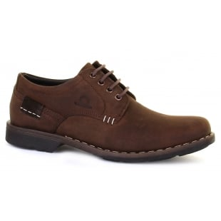 Chatham Isaac Dark Brown Shoes