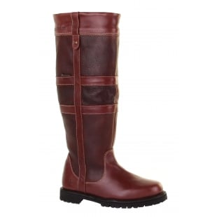 Chatham Melcombe Red Brown Boots