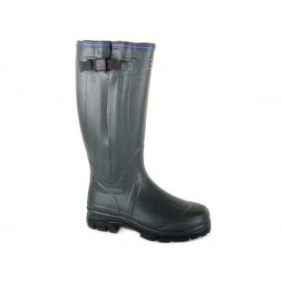 Chatham Moor Dark Green Wellies
