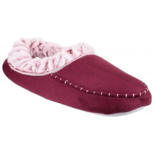 Divaz Mirak Prague Burgundy Slippers