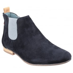 Divaz Pisa Ladies Boot Navy Boots