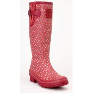 Evercreatures Cedar Tall Wellies - Red Wellingtons
