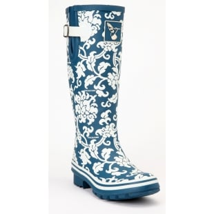 Evercreatures Delft Tall Wellies - Off White