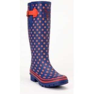 Evercreatures Multisun Tall Wellies - Red Polka Wellingtons