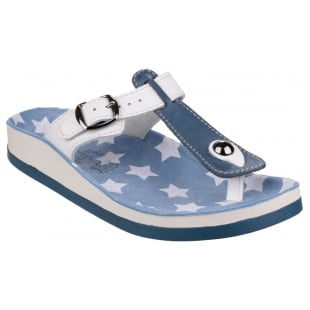 Fantasy Naxos Blue/White Sandals