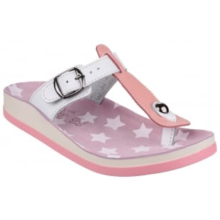 Fantasy Naxos Pink/White Sandals