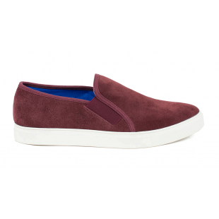Front Brenner FR7255 Burgundy Shoes