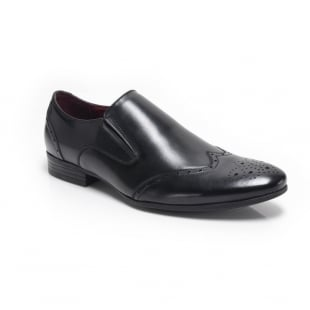 Front Chadwick Fr7103Rg Black Shoes