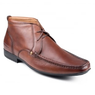 Front Clarkson Fr691 Brown Boots