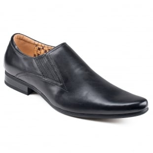 Front Enzo (Fr6984) Black Shoes