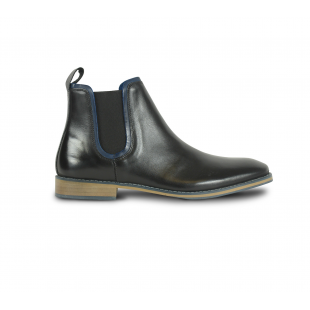 Front Standford Chelsea Boot - Black
