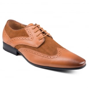 Front Turin (Fr7084) Tan/Brown Shoes