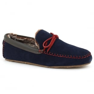 Lazy Dogz Benson - Navy/Red