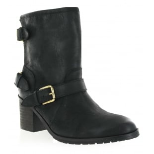 Marta Jonsson Leather Ankle Boot 2050L Black