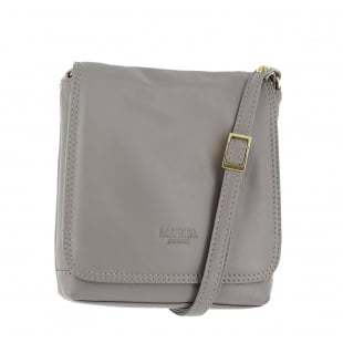 Marta Jonsson Womens Across Body Bag 8521L Grey