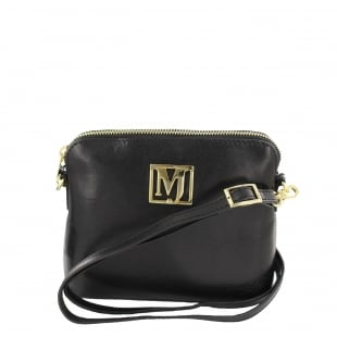 Marta Jonsson Womens Across Body Bag 8524L Black
