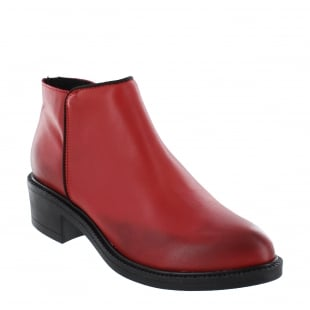 Marta Jonsson Womens Ankle Boot 4101L Red