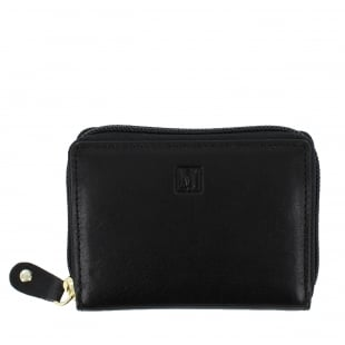 Marta Jonsson Womens Card Holder Wallet Black W3888