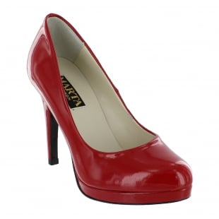 Marta Jonsson Womens Court Shoe 2103P Red