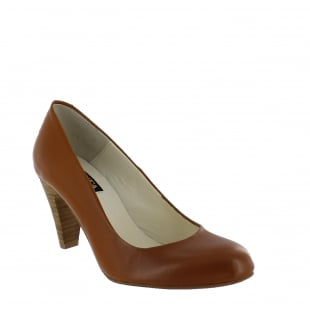 Marta Jonsson Womens Court Shoe 6118L Tan