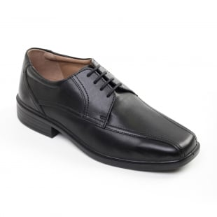 Padders Aston Black Polished Shoes