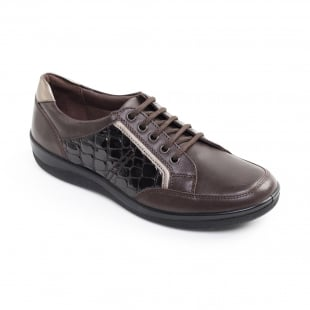 Padders Atom Brown Combination Shoes
