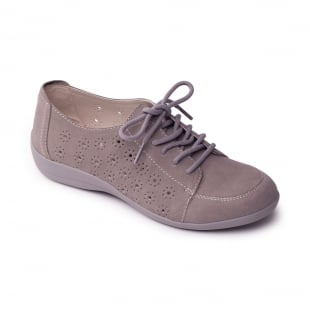 Padders Darcy Grey Shoes