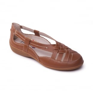 Padders Delta Tan Shoes